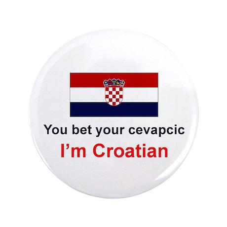 """Croatian Cevapcic 3.5"""" Button"""
