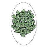 Green man Bumper Stickers