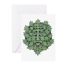 Green Man Greeting Cards (Pk of 10)