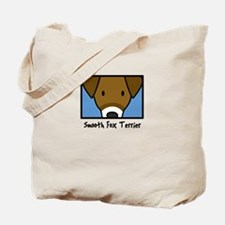 Anime Smooth Fox Terrier Tote Bag