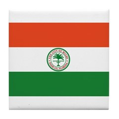 Miami Flag Tile Coaster