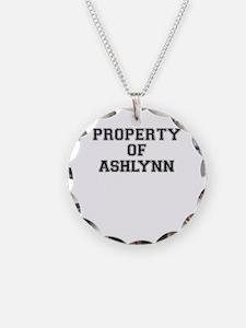 Property of ASHLYNN Necklace