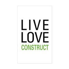 Live Love Construct Decal