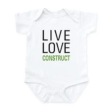 Live Love Construct Infant Bodysuit