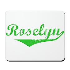 Roselyn Vintage (Green) Mousepad