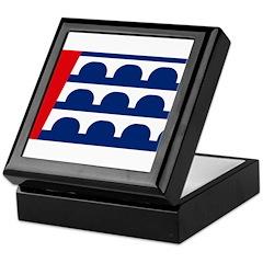 Des Moines Flag Keepsake Box