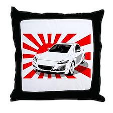 """""""RX8 Japan"""" Throw Pillow"""