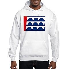 Des Moines Flag Hooded Sweatshirt