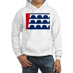 Des Moines Flag Hooded Sweatshirt