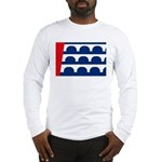 Des Moines Flag Long Sleeve T-Shirt