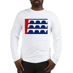 Des Moines Flag Long Sleeve T-Shirt
