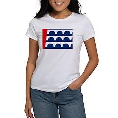 Des Moines Flag Women's T-Shirt