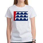 Des Moines Flag Women's T-Shirt