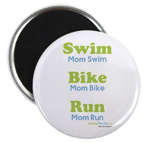 Triathlon Mom Magnet