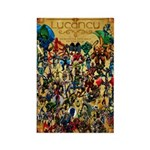 Lycancy Group Poster Rectangle Magnet (100 pack)