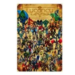 Lycancy Group Poster Postcards (Package of 8)