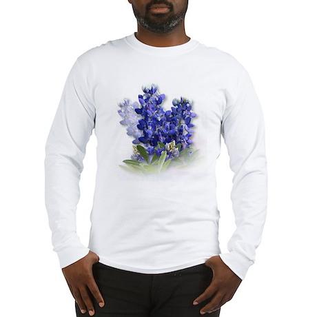 Bluebonnet Spray Long Sleeve T-Shirt