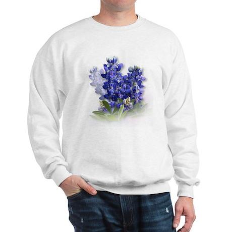 Bluebonnet Spray Sweatshirt