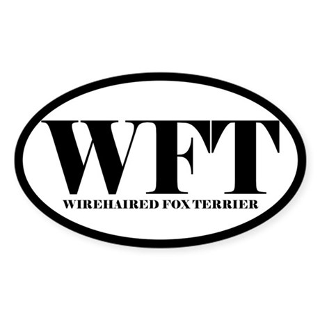 WFT Abbreviated Wirehaired Fox Terrier Sticker