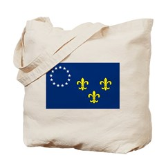 Louisville Flag Tote Bag