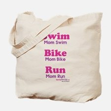 Triathlon Mom Tote Bag
