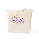 Ella Script Tote Bag