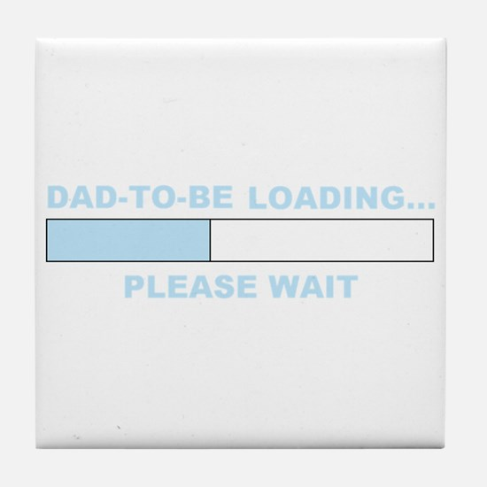 DAD-TO-BE Tile Coaster