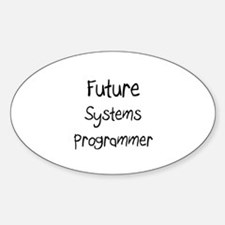 Future Systems Programmer Oval Decal