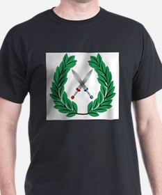 Crown Of Olive Leaves With Swords T-Shirt