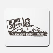 RETRO BENCH PRESS Mousepad