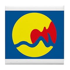 Grand Rapids Flag Tile Coaster