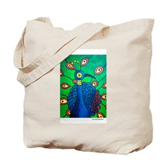 Marcy Hall's Peacock Tote Bag