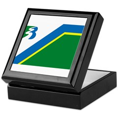Bayport Flag Keepsake Box