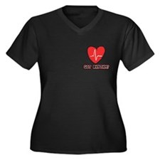 Gifts for Cardiologists & Car Women's Plus Size V-