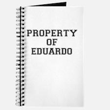 Property of EDUARDO Journal