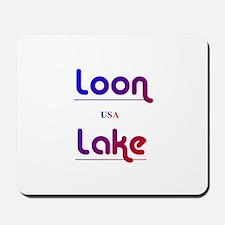 Loon Lake Mousepad