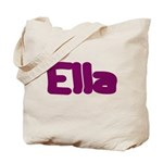 Ella Fat Burgundy Tote Bag