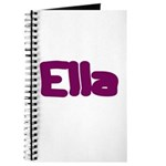 Ella Fat Burgundy Journal
