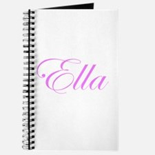 Ella Pink Script Journal