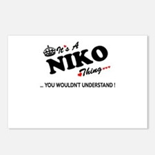 NIKO thing, you wouldn't Postcards (Package of 8)