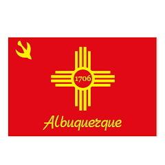 Albuquerque Flag Postcards (Package of 8)