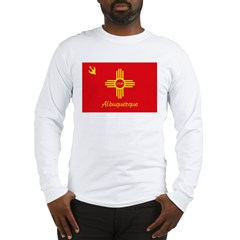 Albuquerque Flag Long Sleeve T-Shirt