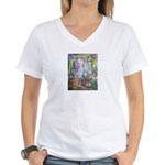 Shortest Way to Heaven Women's V-Neck T-Shirt