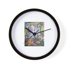 Shortest Way to Heaven Wall Clock