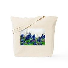 Bluebonnet Painting Tote Bag