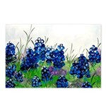 Bluebonnet Painting Postcards (Package of 8)
