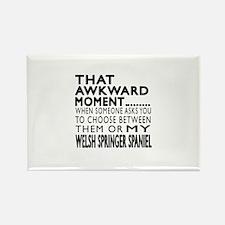 Awkward Welsh Springer Rectangle Magnet (10 pack)
