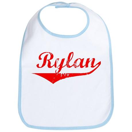 Rylan Vintage (Red) Bib
