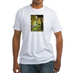 Gardening Decorating Outside Fitted T-Shirt