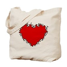 Funny Romantic women Tote Bag